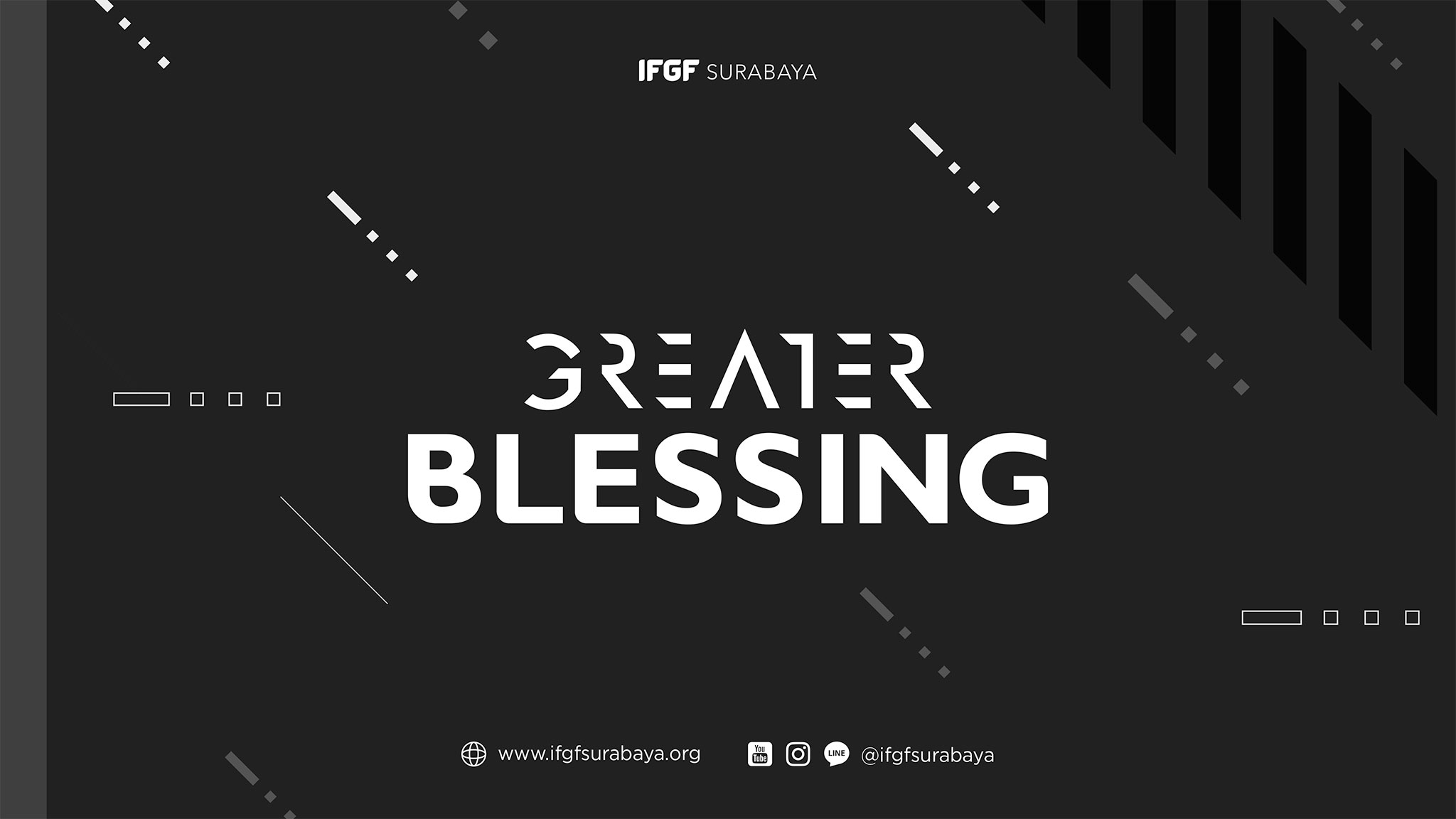 Greater Blessing